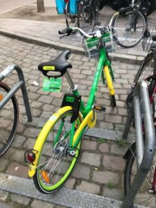 Bike Sharing in Bremen mit LimeBike